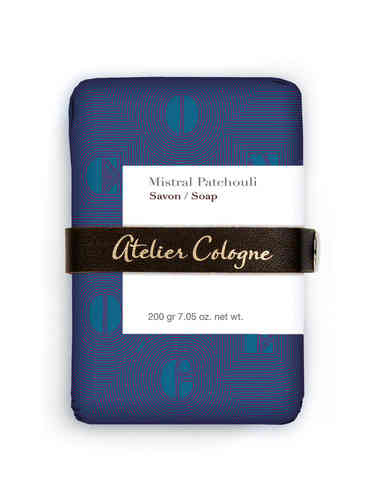 ATELIER COLOGNE: Mistral Patchouli, Seife 200 g