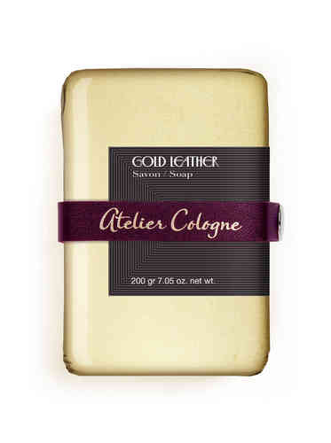 ATELIER COLOGNE: Gold Leather, Seife 200 g