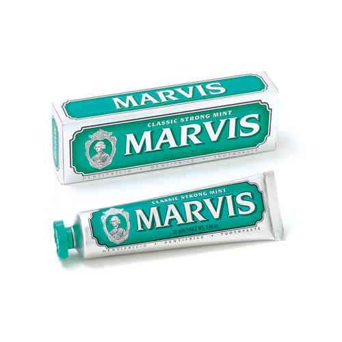 MARVIS: Classic Strong Mint, Zahnpasta 75 ml