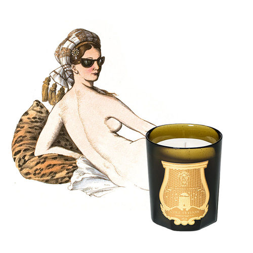 CIRE TRUDON: Odalisque, Classic Candle, Duftkerze 270 g