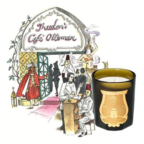 TRUDON: Ottoman, Classic Candle, Duftkerze 270 g